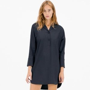 Everlane Artists Smock Black Dress New Size Small